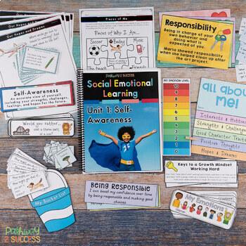 Self-Awareness Social Emotional Learning Unit for Elementary