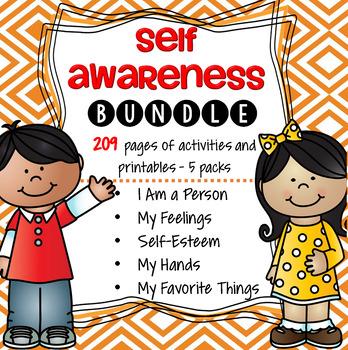 Self Awareness Preschool Curriculum BUNDLE