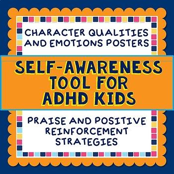 Self Awareness Tool, Behavior Strategy, ADHD, Emotions Vocabulary, Reflection