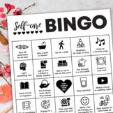 Self-Care Bingo for Teachers in Quarantine or on Extended