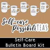Self Care Bulletin Board Kit   PossibiliTEAS Farmhouse Cer