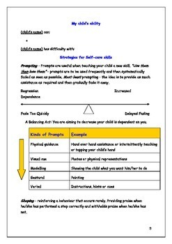 Self Care Dressing Skill Development for Individuals with Autism