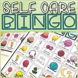 Self Care Game: Bingo Counseling Game to Practice Self Car