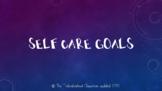 Self Care Goals