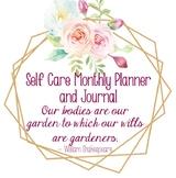 Self Care Journal and Planner - Teacher Self Care Organizer