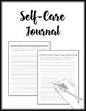 Self-Care and Mindfulness Journal for Teachers, Counselors, Students