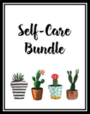 Self-Care and Mindfulness Bundle for Teachers, Counselors, and Students