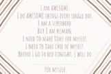 Self-Care Mantra