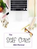 Self-Care Mini Planner