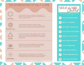 Self-Care Pamphlet