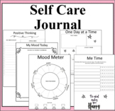 Self Care Reflection Journal-8 weeks of making positive self care changes