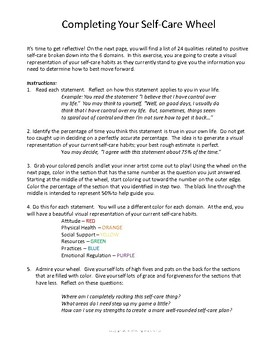 Self Care Self Assessment Workbook For Parents, Teachers, And Professionals Idea