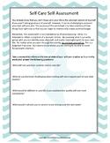 Self-Care Self-Assessment Workbook for Parents, Teachers,