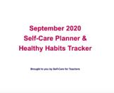 Self-Care September Planner & Tracker