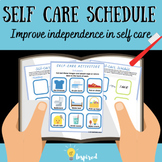 Self Care Visual Schedule PDF for Occupational Therapy/Special Education/Autism