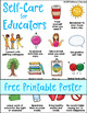 Self-Care for Educators Poster