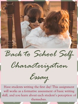 Self-Characterization First Day Essay
