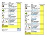 Self Management Behavior Chart for Elementary Grades