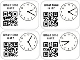 Self Check Clocks Flashcards: QR Codes