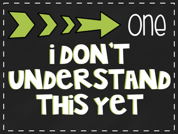 Self Check Understanding Posters