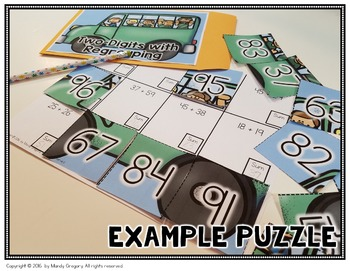 Self Checking Addition Puzzles