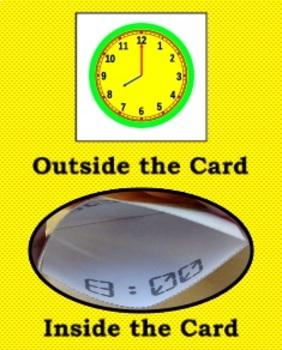 Self-Checking Analog Clock Game