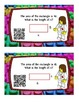 **FREEBIE** Self Checking Area Task Cards ~ 3.MD.C.7