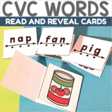 Self Checking CVC Reading and Blending Cards