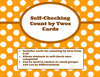 Self-Checking Count by Twos Cards