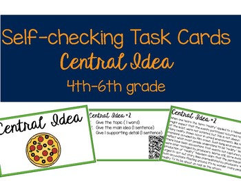 Self-Checking ELA Skills Task Cards - Bundle!