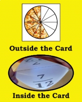 Self-Checking Identifying Fractions Game