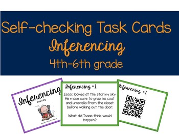 Self-Checking Inferencing Task Cards