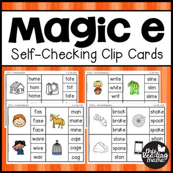 Self-Checking Magic e Clip Cards
