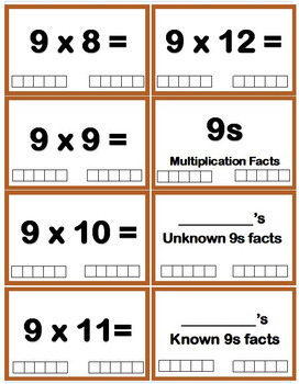 Self-Checking Multiplication Flash Cards with Data Tracking & Assessment System