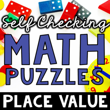 Self Checking Place Value Puzzles