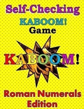Self-Checking Roman Numerals Game