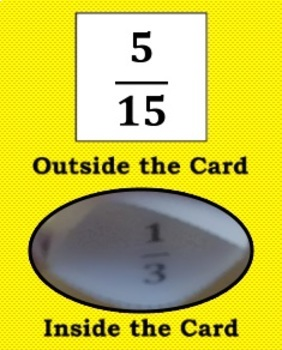 Self-Checking Simplifying Fractions Game