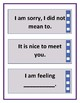 Self-Checking Social Cue Cards