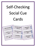 Self-Checking Social Cue Cards