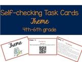 Self-Checking Theme Task Cards