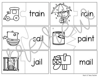 Self Checking Vowel Digraph Puzzles