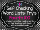 Self Checking Word List BUNDLE: Fry's 1,000 Words (with Audio)