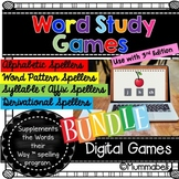 Words Their Way™ - BUNDLE of Digital Self-Checking Word St