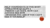 Self Confidence Poster (Printable)