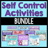 Self Control Activities Bundle (Save 20%!)