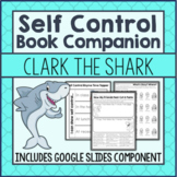 Self Control Activities: Clark the Shark - Printable And G