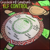 Self Control Activities with the Circle of Control Holiday Version