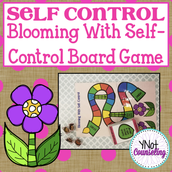 Self Control: Blooming With Self Control Board Game