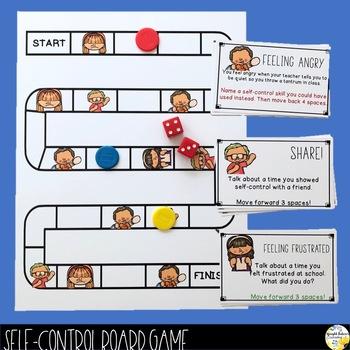 Self-Control Board Game