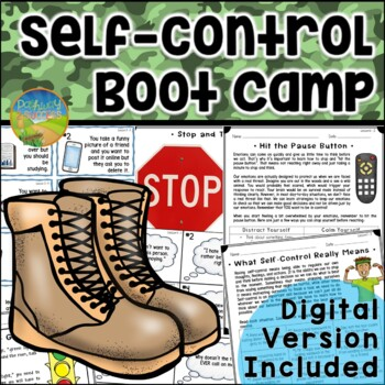 Self Control Boot Camp - Distance Learning and Google Classroom